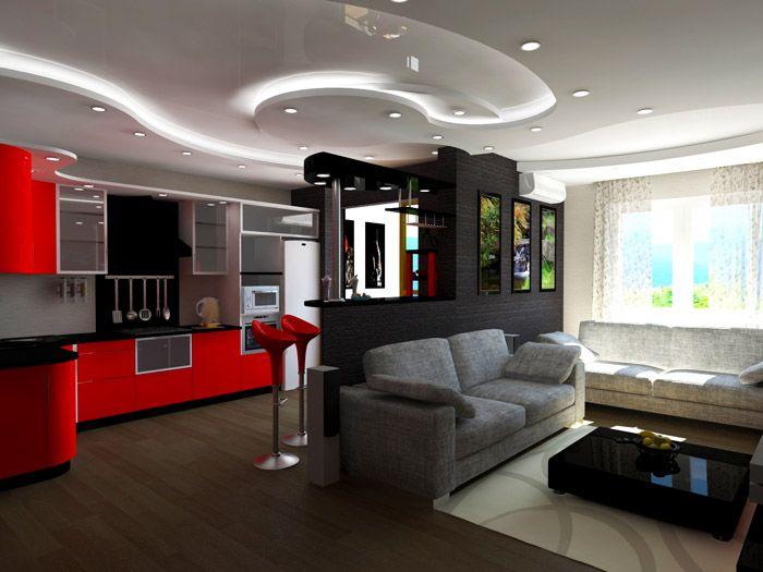 Квартира-студия: планировка интерьера и фото