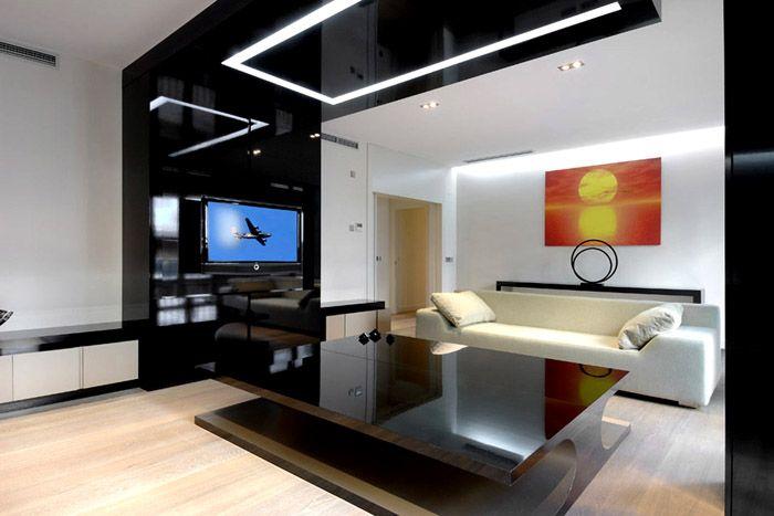 Квартира в стиле хай-тек для современного человека