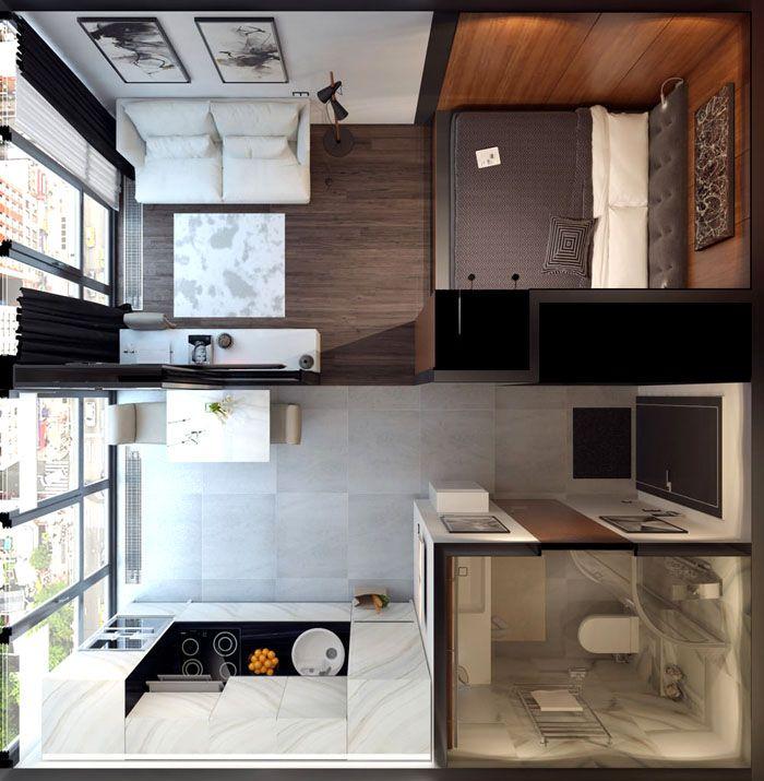 Фото планировки однокомнатной квартиры 30 кв. м.