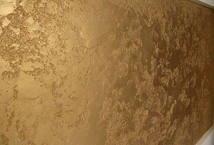 Образец поверхности с венецианской отделкой