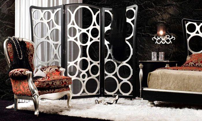 Ширма как декоративный элемент интерьера комнаты