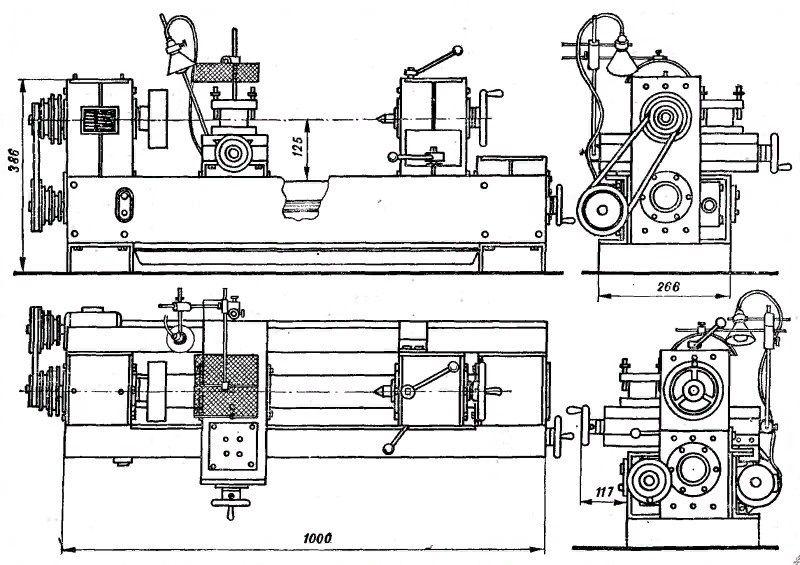 Конструкция, основные части, размеры