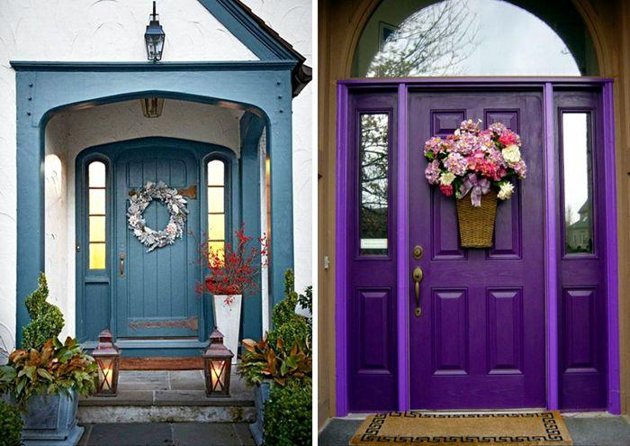 Изготовление металлической двери на заказ подразумевает возможность применения любого необходимого оттенка при окраске