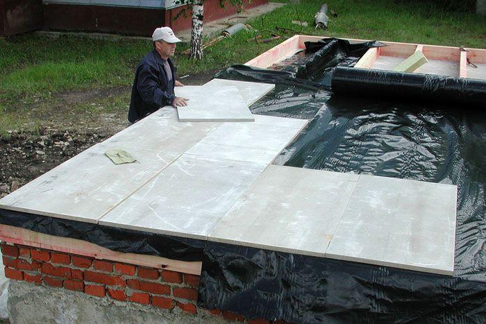 Цементно-стружечные плиты легко образуют ровную плоскость пола