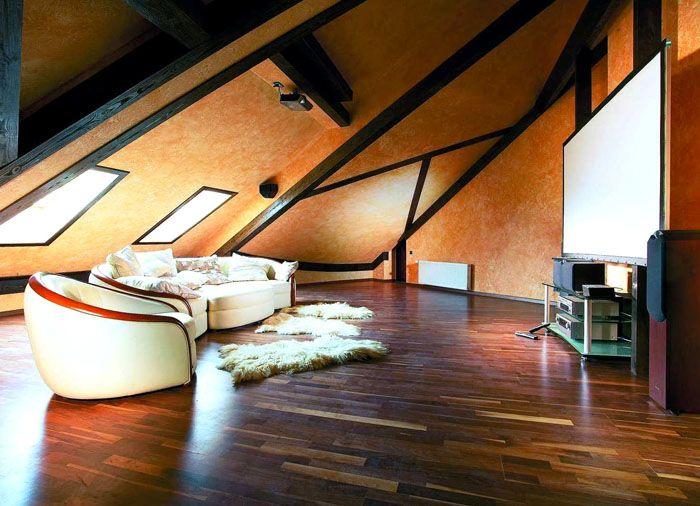 Если геометрия крыши очень сложная, возможно, что для сохранения тепла вам придётся пожертвовать частью площади