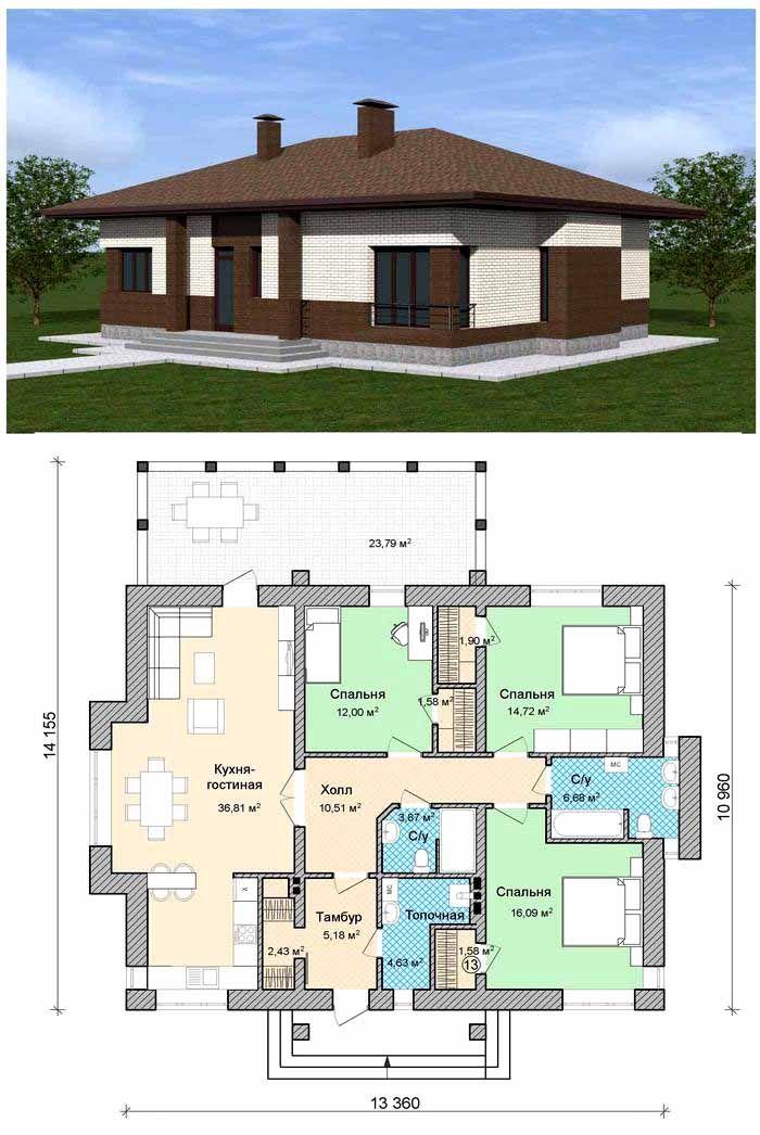 На этом и следующих рисунках (снимках) можно изучить полезные архитектурные и дизайнерские приемы