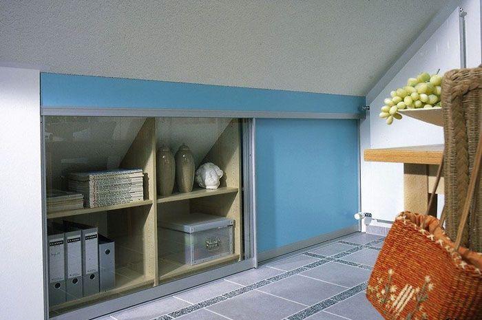 Внутри этих полостей можно сделать ниши, шкафчики для хранения вещей