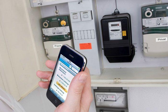 Данные через интернет можно получать наличное мобильное устройство в режиме online