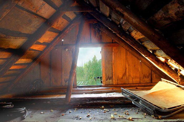 Основной функционал чердака — утепление дома