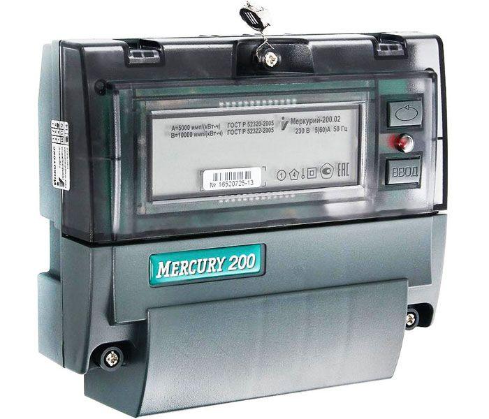 Счетчик «Меркурий 200»