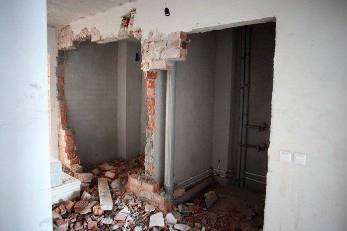 Любая переделка квартиры требует согласования с БТИ