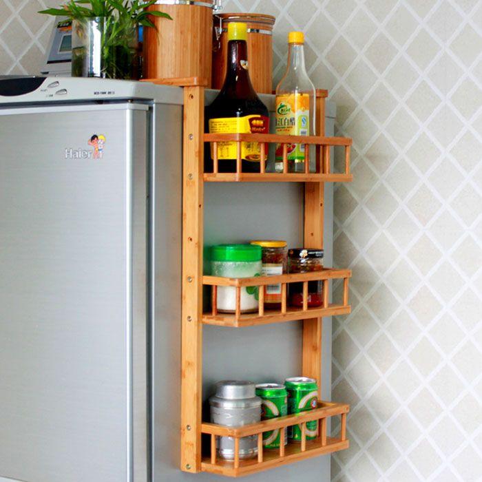 Навесной вариант с установкой не на стену, а на холодильник