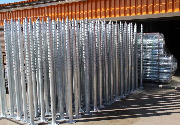 Цена сваи в основном зависит от её длины и диаметра трубы и лопасти