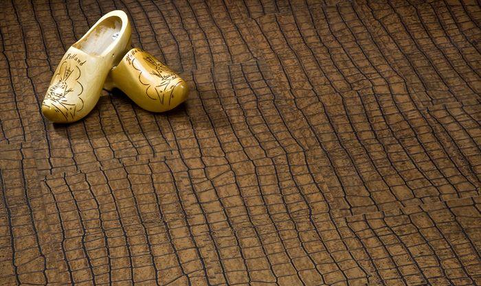 Пол «под крокодила» − модный тренд в дизайне интерьера