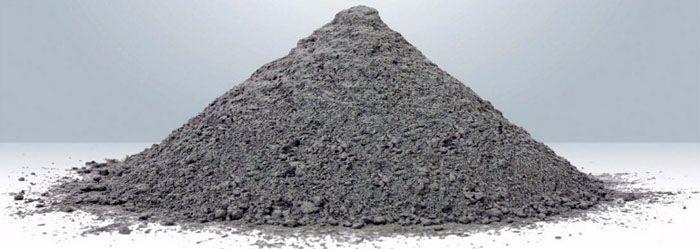 Цемент, изготовленный на заводе