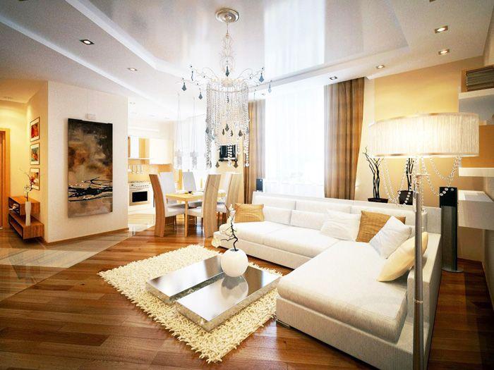 Эксклюзивный интерьер квартиры в новостройке