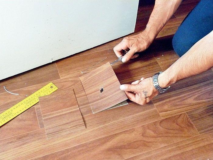 Пепел от сигареты, упавший горячий утюг или зажжённая спичка оставит на полу неизгладимый след