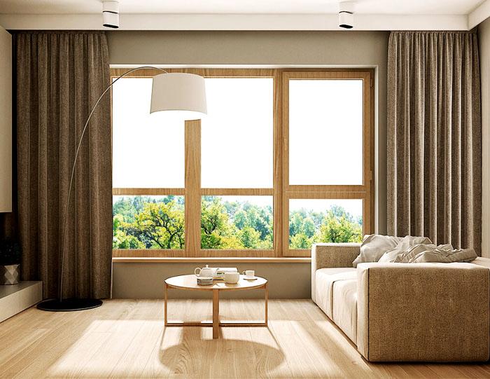 В жилой комнате всегда должно находиться окно на улицу