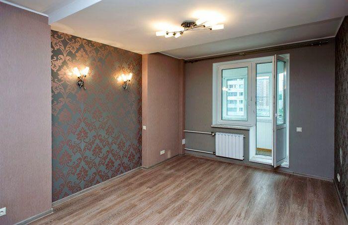 Жилая комната, оформленная гипсокартонной конструкцией