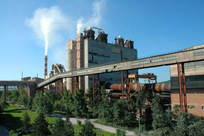 Цементный завод в г. Спасск-Дальний Приморского края