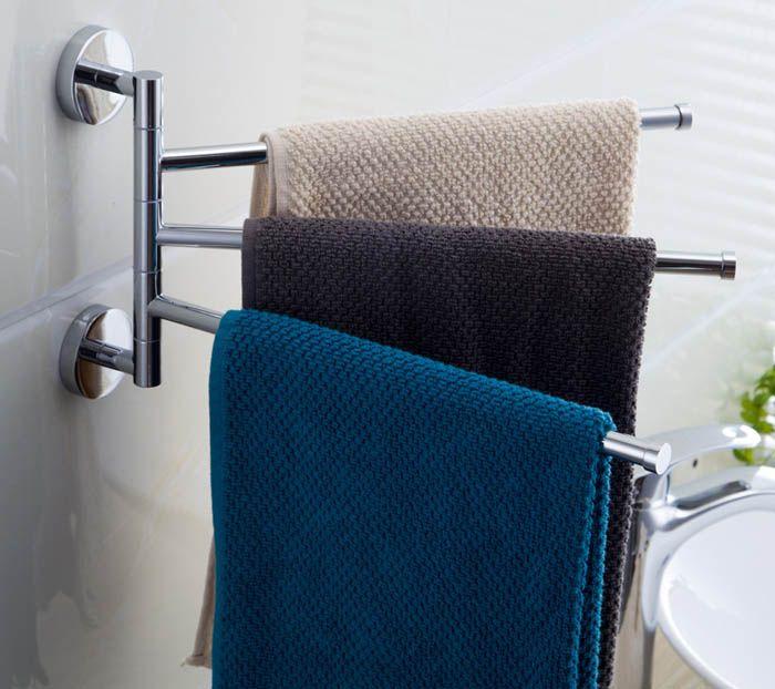 Держатели для полотенец – обязательный атрибут ванной комнаты