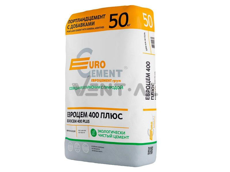 Цемент марки М400 производства ЗАО «Евроцемент Групп»