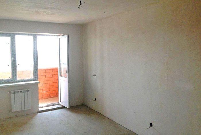 Квартира в новостройке с предчистовой отделкой – стены, пол и потолок выровнены