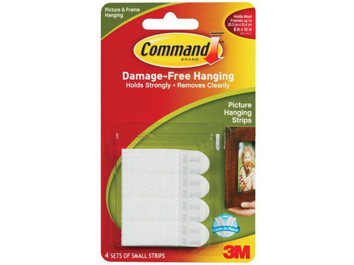 Крепёжная система на липучках «Command» в полном комплекте