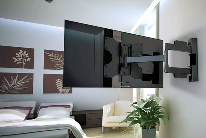 Поворотный выдвижной кронштейн для установки телевизора