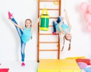 Шведская стенка для детей в квартиру