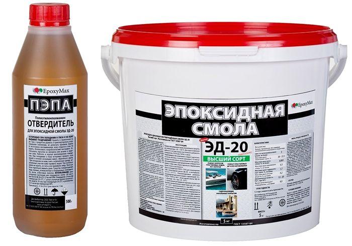 ЭД-20 продаётся в разной расфасовке, что удобно при различной потребности