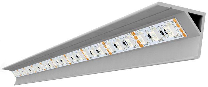 Использование строительного пластикового профиля для монтажа LED ленты