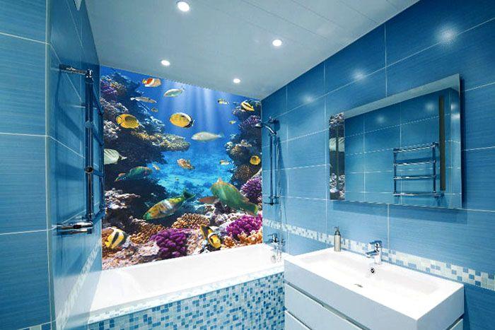 Использование стеклянных панелей позволяет создать неповторимый дизайн ванной комнаты