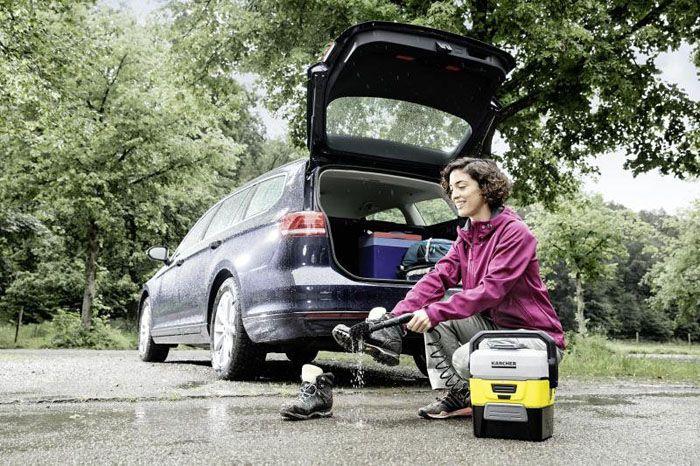 Мобильность – это главное преимущество мини-моек марки Karcher OC 3 Adventure