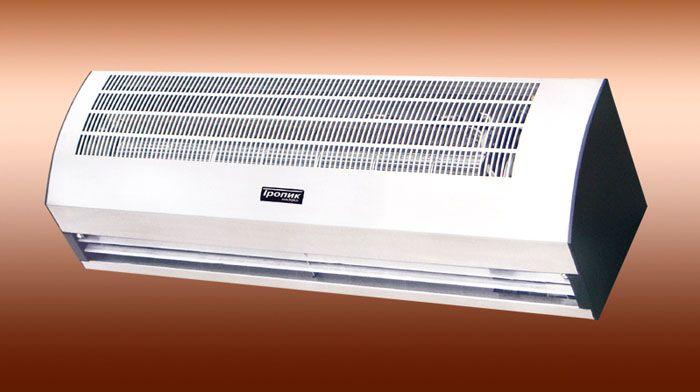 Водяная тепловая завеса ТРОПИК модель «T109W10» (серия Т)