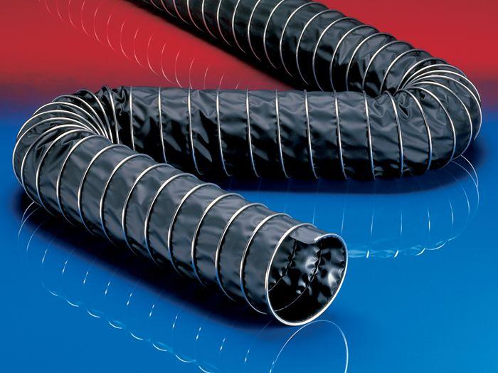Воздуховоды могут быть изготовлены из термостойких полимерных материалов