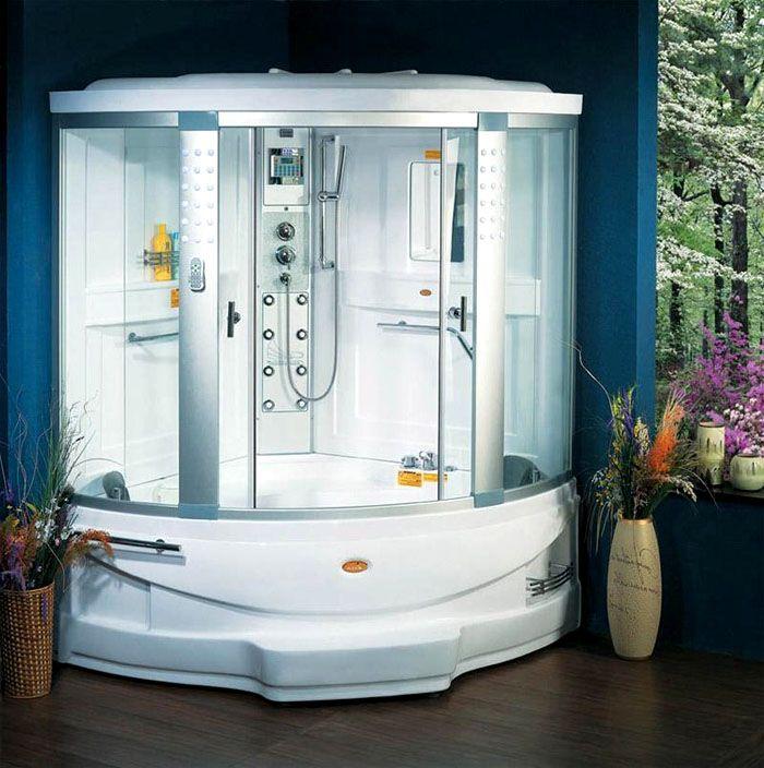 Угловые модели занимают мало места, но в них ограничена полезная площадь ванны