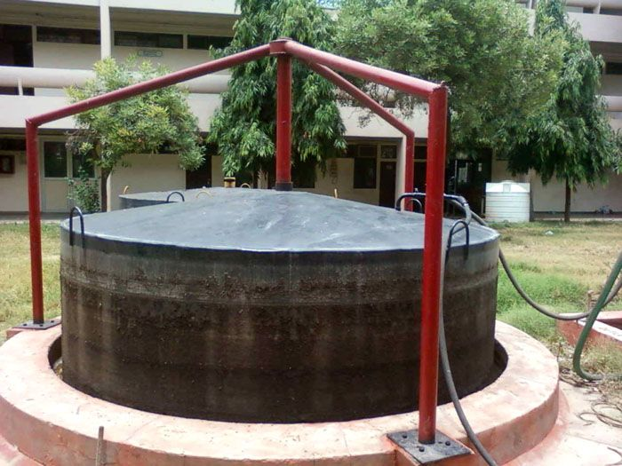Биогазовая установка для частного дома, работающая на отходах злаковых культур