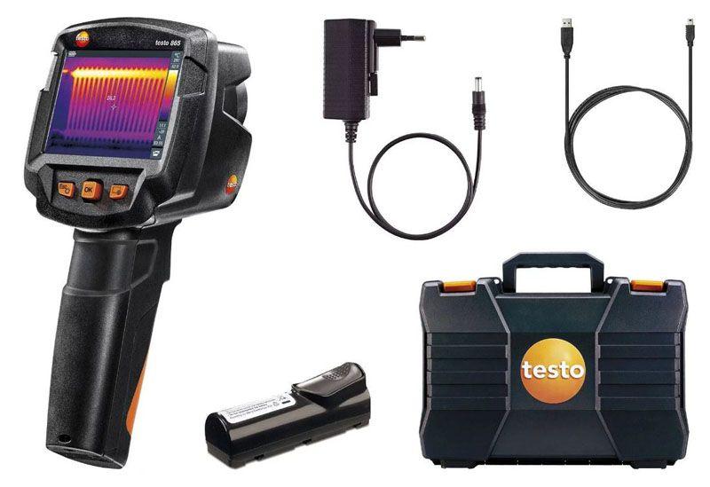 В комплект поставки, кроме приборов марки «Testo», входят футляр и установочный диск для ПК, зарядное устройство и светофильтры