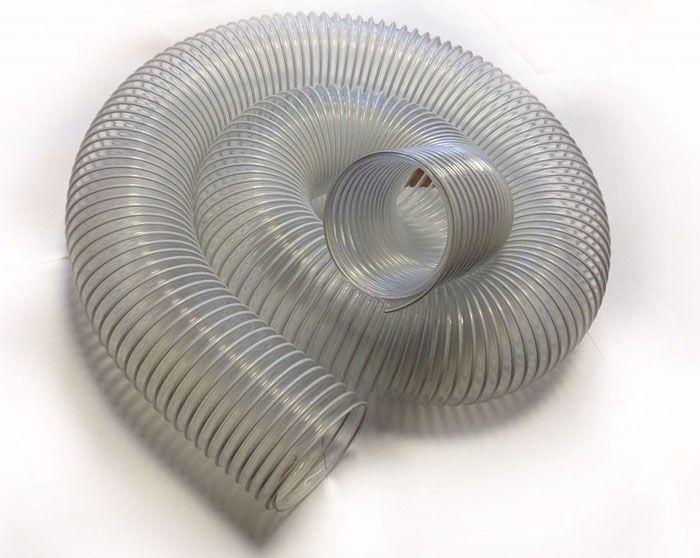 Пластиковая гофра отличается прочностью и низкой стоимостью, в сравнении с аналогами из металла