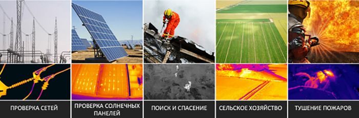 Виды использования тепловизоров в различных отраслях промышленности и сельского хозяйства