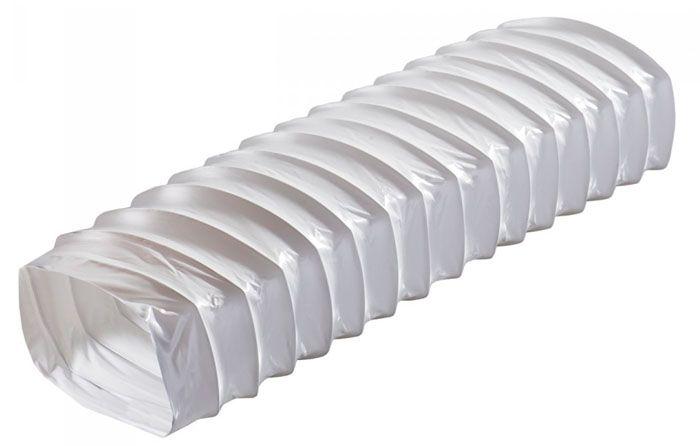 Гофра прямоугольной формы используется в системах вентиляции на предприятиях и объектах технического назначения