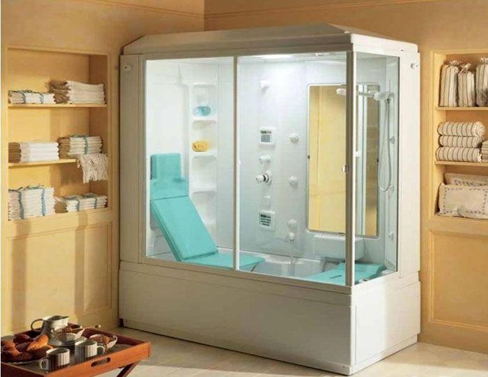 Душевая кабина с ванной модель «TeucoTop»