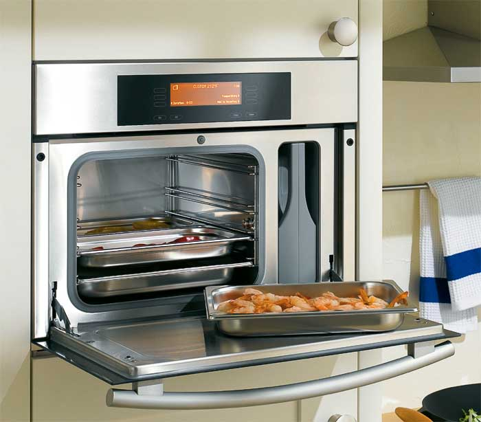 Наличие функции конвекции позволяет готовить несколько блюд одновременно