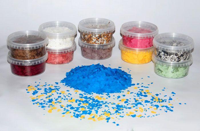 Декоративные наполнители, используемые при изготовлении различных изделий