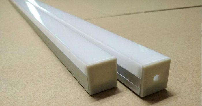 Кабель-канал может быть изготовлен из алюминия или пластика