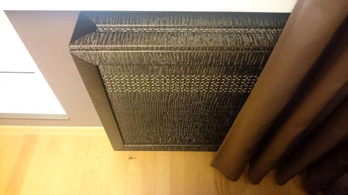 Благодаря такой основе материал не деформируется под воздействием высоких температур