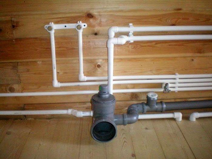 Создание системы водопроводов в новом доме