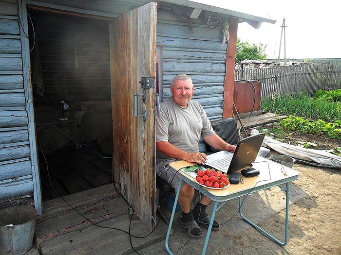 Деревня без интернета – теперь это сложно представить