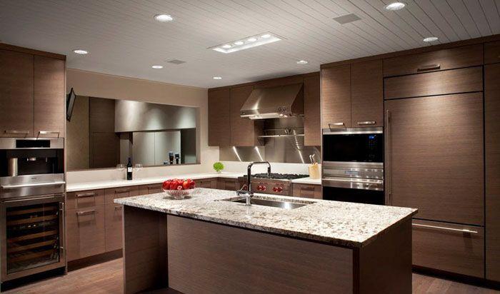 Минимализм на современных кухнях приветствуется
